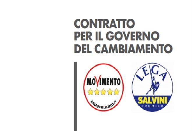 Contratto di Governo M5s-Lega