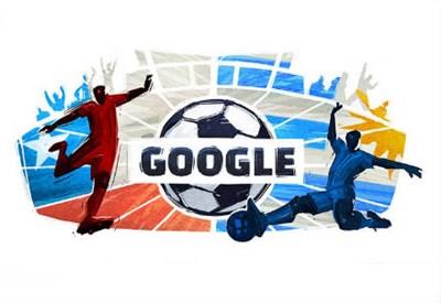 Il logo di Google per la Coppa America 2015