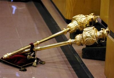 Il simbolo della Corte dei Conti (InfoPhoto)