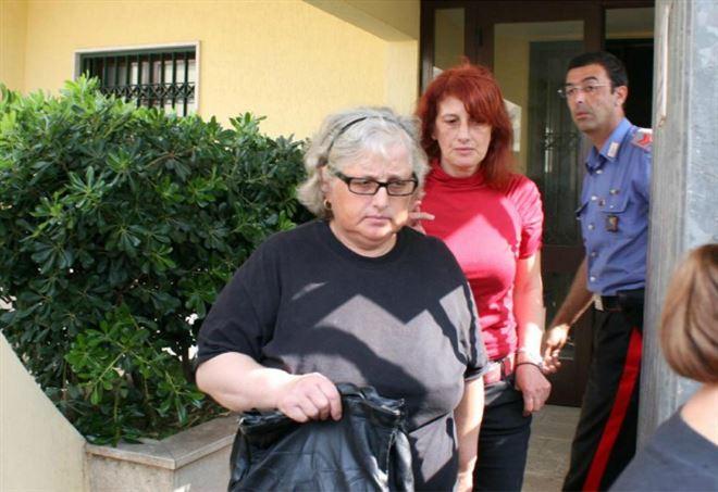 Delitto Sarah Scazzi, Cosima e Concetta Serrano (LaPresse)