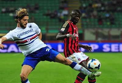 Niang, attaccante Milan (Infophoto)