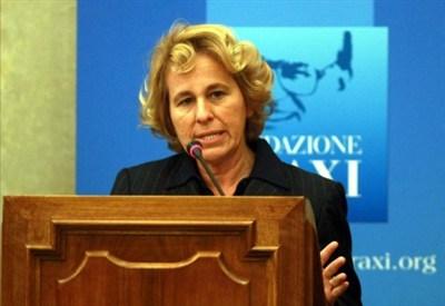 L'onorevole Stefania Craxi