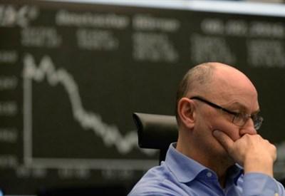 Crollo in Borsa (Foto: LaPresse)