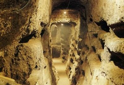 Catacombe della Basilica di santa Cristina (Viterbo) (Foto dal web)