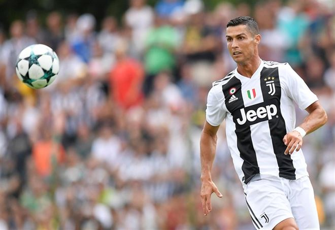 Cristiano Ronaldo (foto da Lapresse)