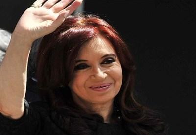 Il presidente argentino Cristina Kirchner (InfoPhoto)
