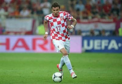 Mario Mandzukic, 27 anni, attaccante croato del Bayern Monaco (INFOPHOTO)