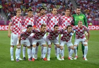 La Nazionale della Croazia (Infophoto)