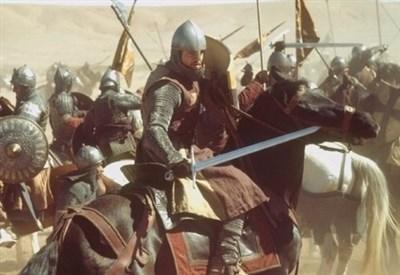 """Una scena del film """"Le crociate"""" di Ridley Scott (Immagine d'archivio)"""