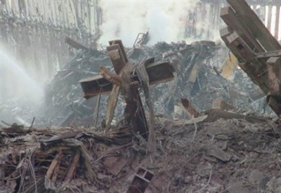 La croce di Ground Zero