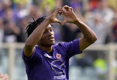 Juan Cuadrado, 26 anni, esterno colombiano della Fiorentina (Infophoto)