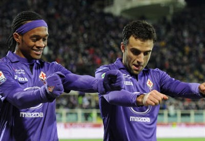 Giuseppe Rossi, attaccante Fiorentina (INFOPHOTO)