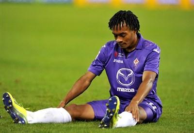 Juan Cuadrado, 25 anni, ala destra colombiana della Fiorentina (INFOPHOTO)