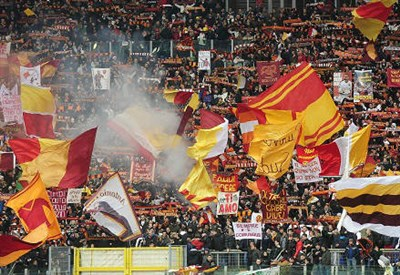 Curva della Roma (Fonte Infophoto)