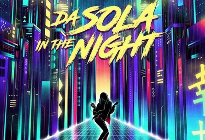 """La copertina di """"Da sola / In the night"""""""