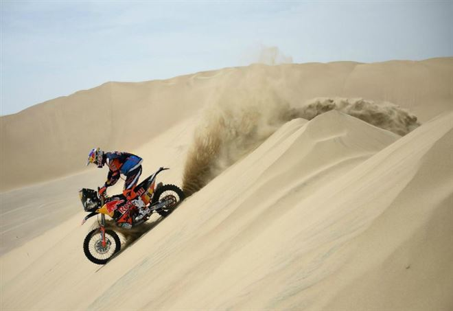 Diretta Dakar 2018 - 8^ tappa (LaPresse)