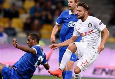 Danilo D'Ambrosio ha segnato nella partita d'andata (Infophoto)