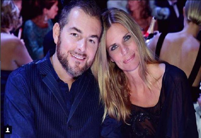 Daniele Bossari e Filippa Lagerback