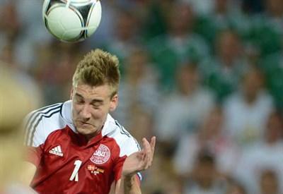 Niklas Bendtner, 27 anni, attaccante danese (INFOPHOTO)
