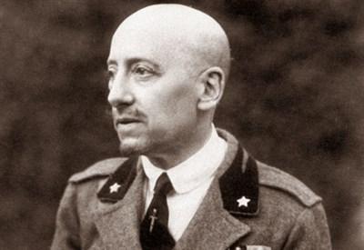 Gabriele D'Annunzio (1863-1938) (Immagine d'archivio)