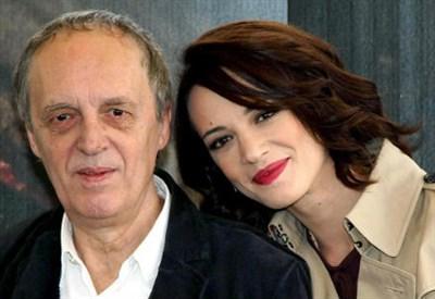 Dario Argento con la figlia Asia (InfoPhoto)