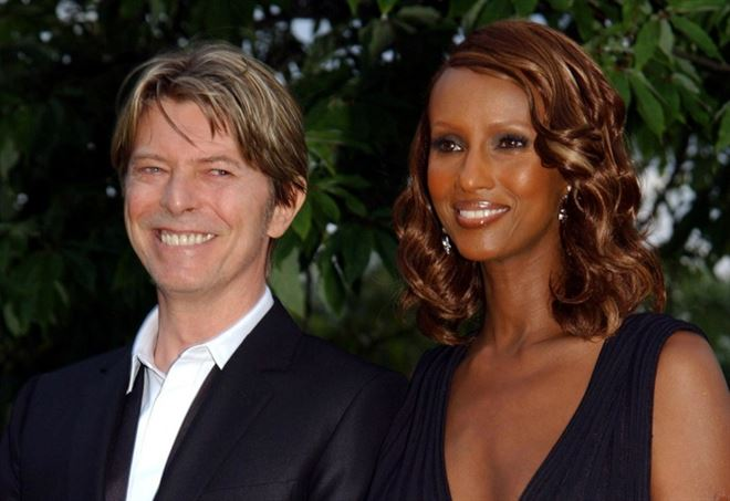 Iman ricorda David Bowie