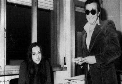 Graziella De Palo e Italo Toni (Immagine d'archivio)