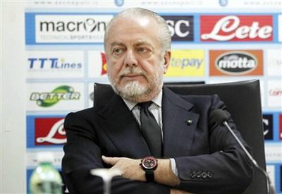 Aurelio De Laurentiis, 64 anni, presidente del Napoli (INFOPHOTO)