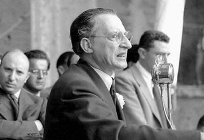 Alcide De Gasperi (1881-1954) (Immagine dal web)