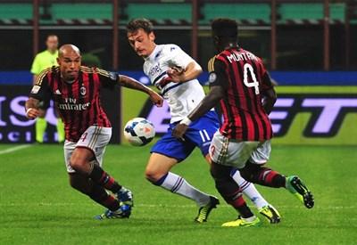 De Jong, centrocampista Milan (Infophoto)