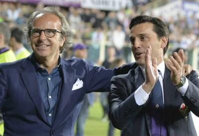 Andrea Della Valle, 49 anni e Vincenzo Montella, 40 (INFOPHOTO)