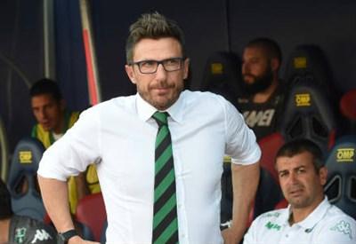 Eusebio Di Francesco, 46 anni, allenatore del Sassuolo (INFOPHOTO)