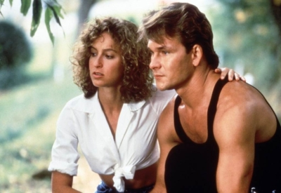 Una scena del film Dirty dancing