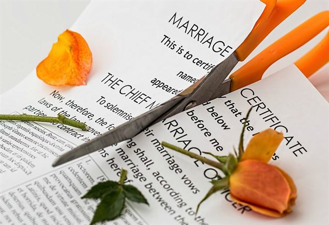 Il divorzio è scritto nel Dna (Foto: da Pixabay)