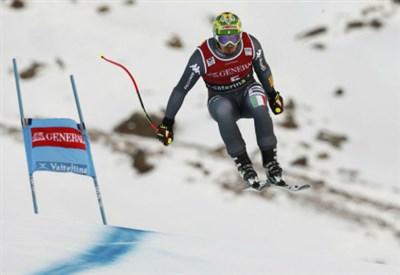 Ganong trionfa nella discesa di Garmisch