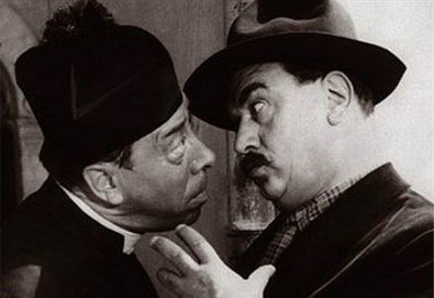 Don Camillo e Peppone (Infophoto)