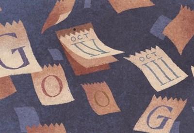Doodle di Google per il calendario gregoriano