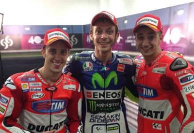 Diretta / MotoGp: ha vinto Valentino Rossi. Classifica piloti, ordine d'arrivo. Ducati a podio. Il Dottore: che spettacolo (Gp Qatar 2015 29 marzo)