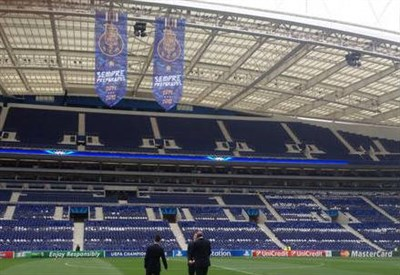 L'Estadio do Dragao, casa del Porto (dall'account Twitter ufficiale @losclive)
