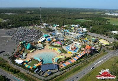 Il parco divertimento Dreamworld