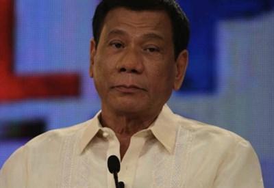 Il presidente filippino Duerte