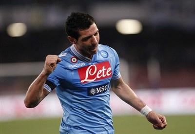 Blerim Dzemaili, centrocampista Napoli (Foto Infophoto)