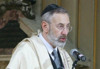 Riccardo Di Segni, rabbino capo di Roma (Infophoto)
