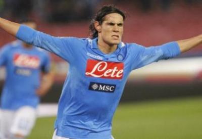Edinson Cavani, il grande ex di Napoli-Palermo (Infophoto)