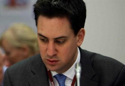 Ed Miliband. Ieri si è dimesso (Infophoto)
