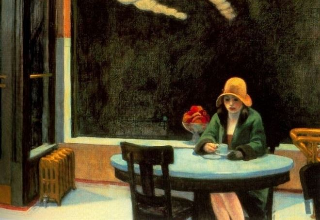 Edward Hopper, Automat (1927)