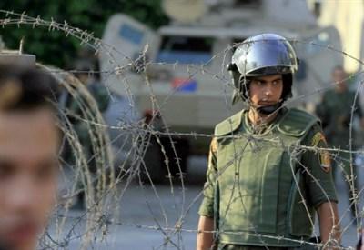 Militari dell'esercito egiziano (Infophoto)