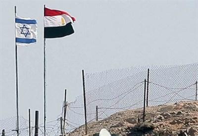 Al confine tra Egitto e Israele