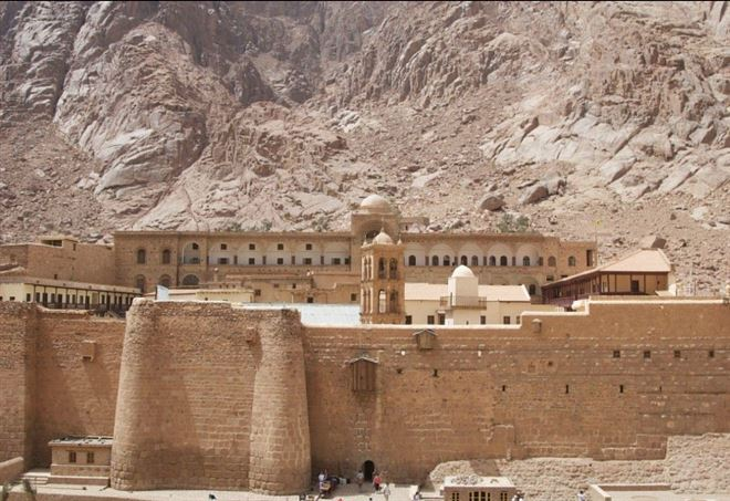 Monastero di Santa Caterina sul Sinai (Foto dal web)
