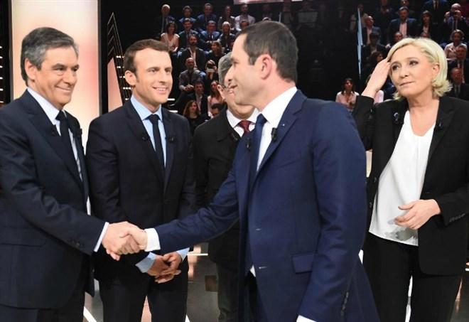 Risultati Elezioni Francia 2017, i candidati (LaPresse)